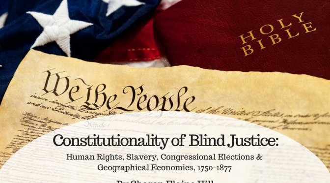 The Constitutionality of Blind Justice by Sharon Elaine