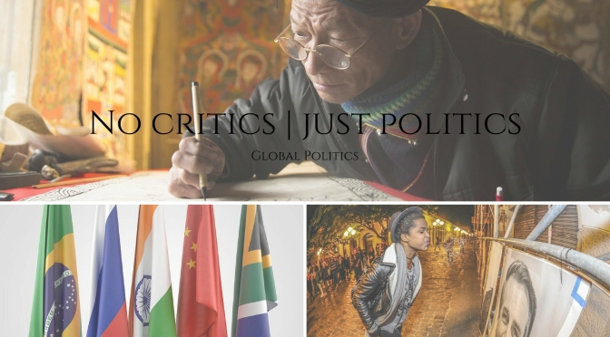 Global Politics 2017 Year in Review on #NoCriticsJustPolitics