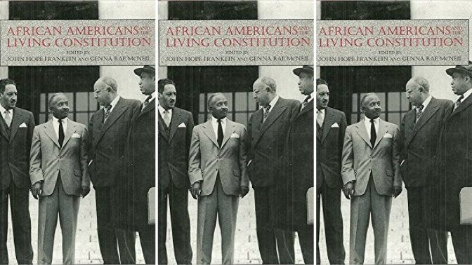 #📚Books to #read in #2018: #AfricanAmericans and the Living #Constitution by #JohnHopeFranklin  #NoCriticsJustArtist