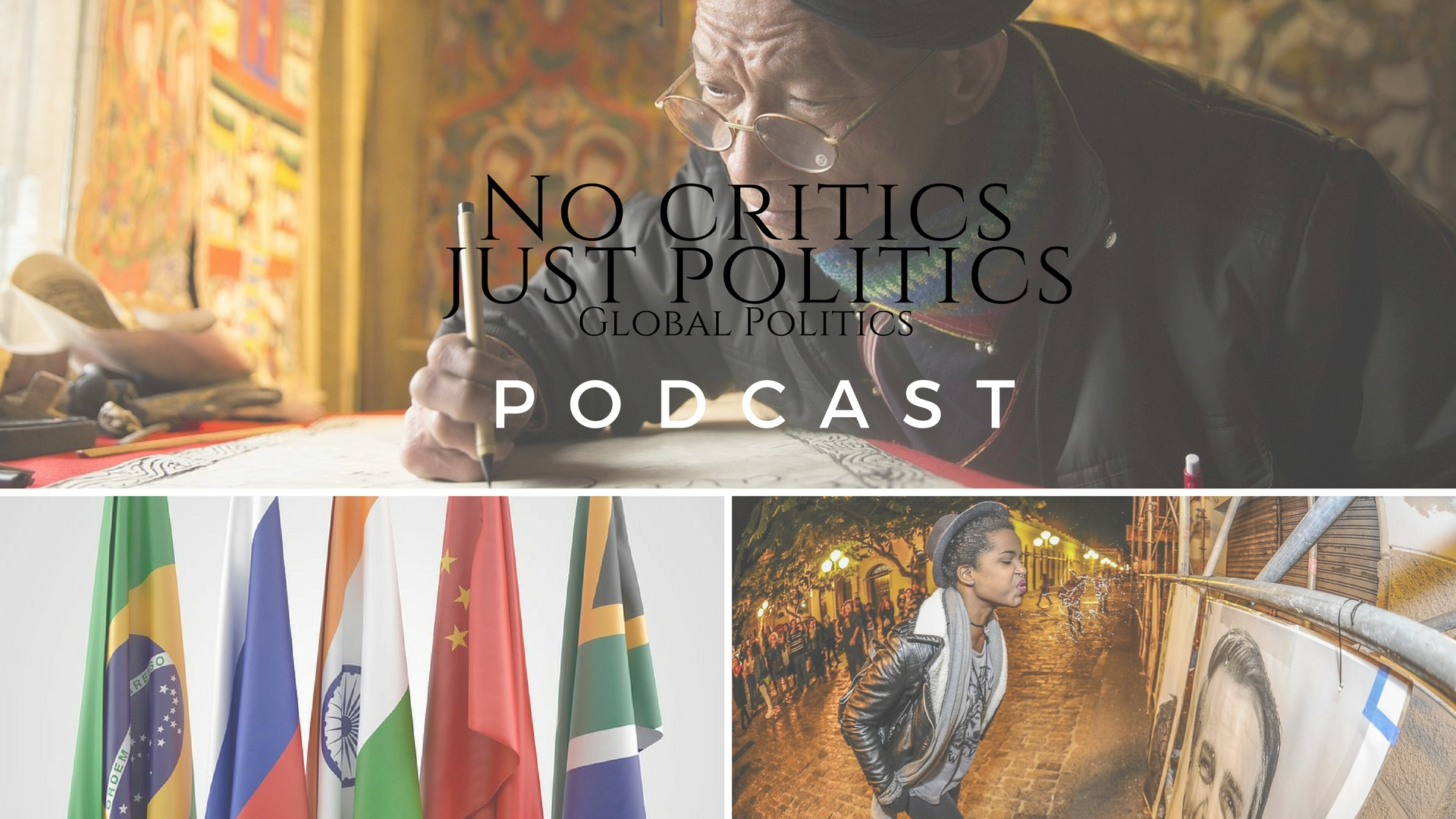 Episode 3 of The ' #NoCriticsJustPolitics ' Podcast is UP! Listen in below