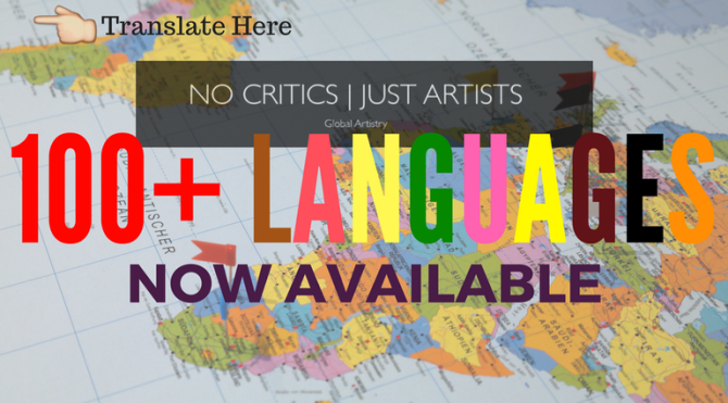 #NoCriticsJustPolitics is now available in over 100 #Languages !!! courtesy of @Google