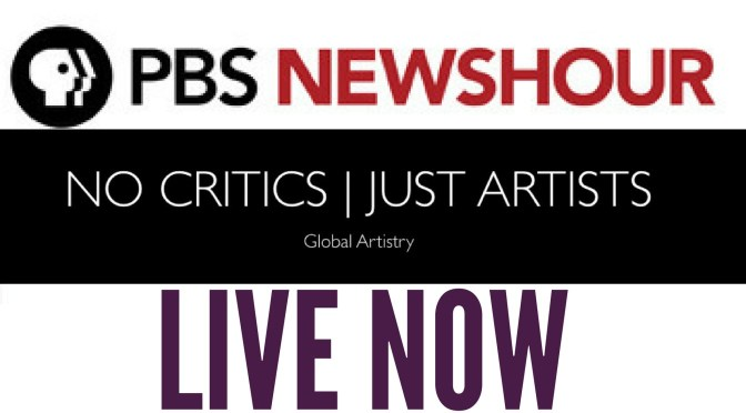 Live: PBS @NewsHour on #NoCriticsJustPolitics