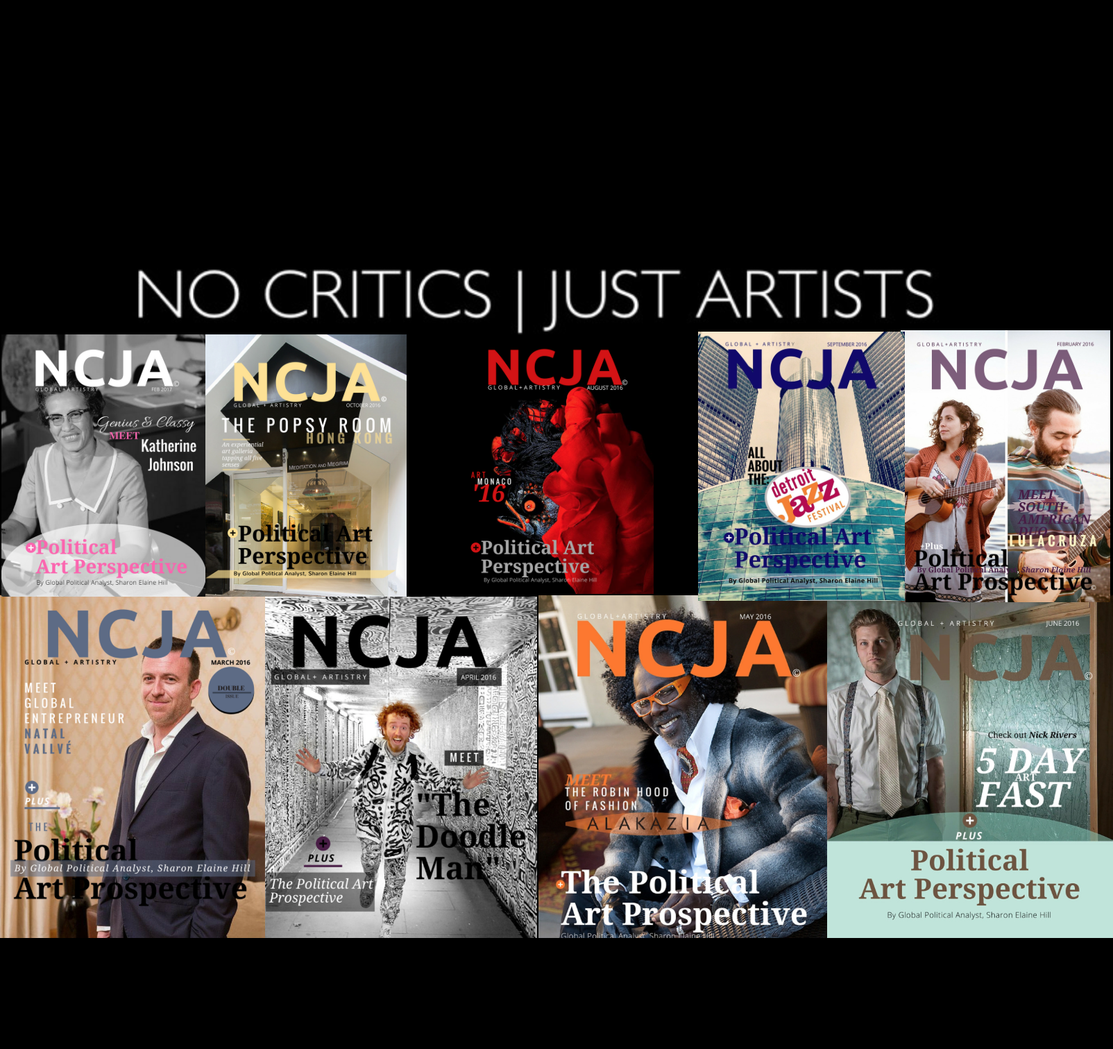 Check out our affiliates #NoCriticsJustArtists here on #NoCriticsJustPolitics