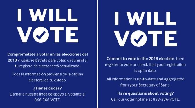 Make the commitment: #NationalVoterRegistrationDay #NoCriticsJustPolitics & @USAGov are encouraging you to exercise your right to #VOTE!!!