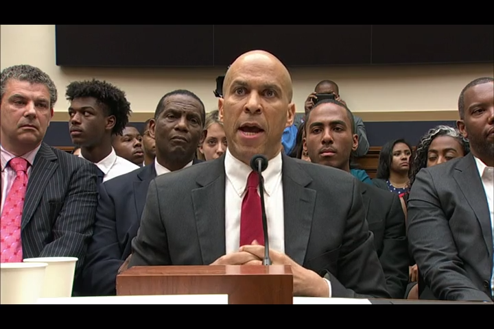 American Politics | Human Rights: American Presidential Candidate, Cory Booker & Ta-Nehisi Coates defended American slave trade reparations  #NoCriticsJustPolitics